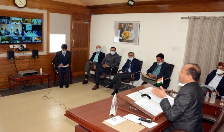 CM जयराम ने अधिकारियों को गृह मंत्रालय के निर्देशों का सख्ती से पालन करने के निर्देश दिए