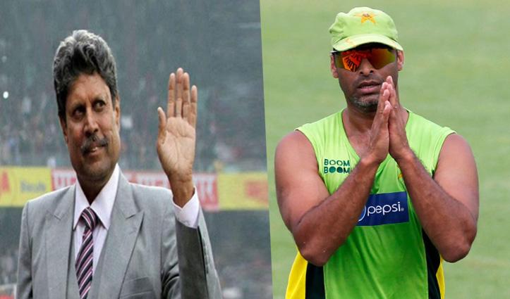 पैसे जुटाने के लिए India-Pak सीरीज़ के अख्तर के प्रस्ताव पर कपिल देव ने दिया जवाब