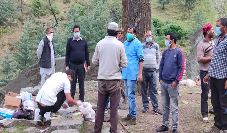 Kullu: बजौरा में 11 बकरियों की मौत, पशुपालन विभाग की टीम कर रही जांच