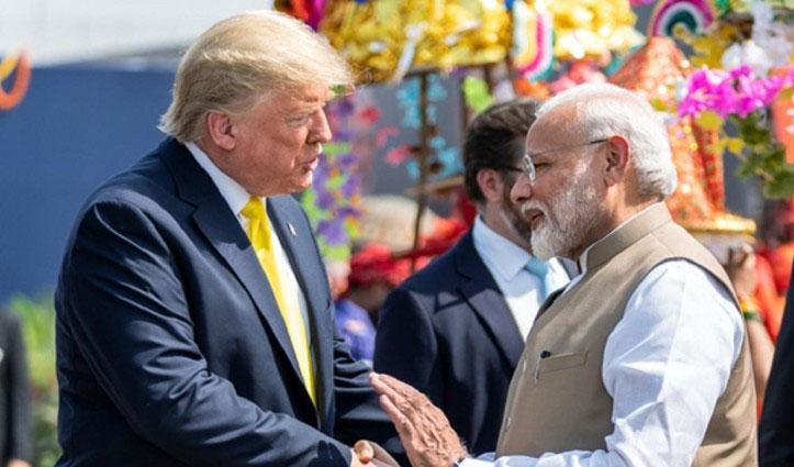 Corona के मसले पर हुई मोदी और Trump के बीच चर्चा, महामारी से लड़ाई में मदद पर सहमत