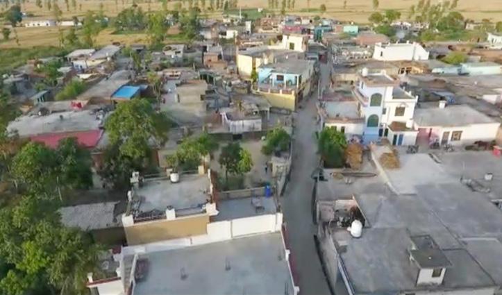 Sirmaur और सुंदरनगरके हॉटस्पॉट क्षेत्रों में ड्रोन कैमरे से खाकी रख रही नजर