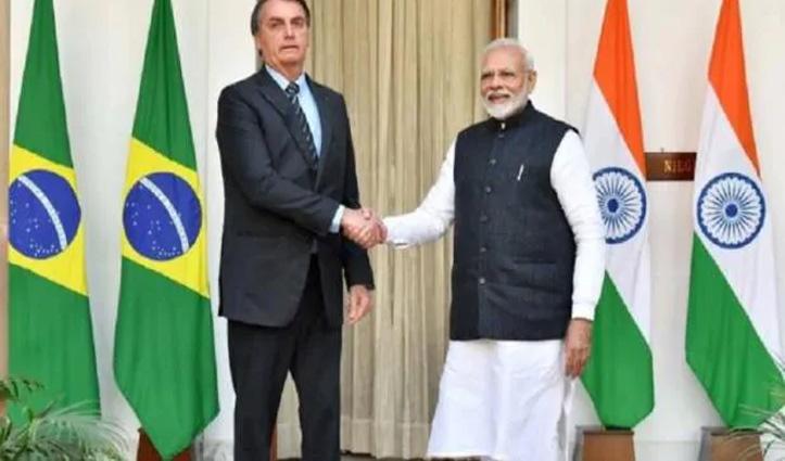 ब्राजील के President ने PM Modi को लिखी चिट्ठी, भारत की मदद की संजीवनी से की तुलना