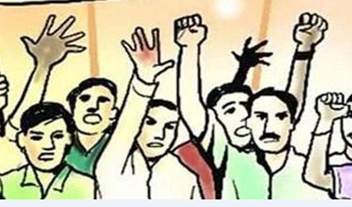 Mandi में बस किराया बढ़ोतरी के खिलाफ सड़कों पर उतरी Congress, किया प्रदर्शन