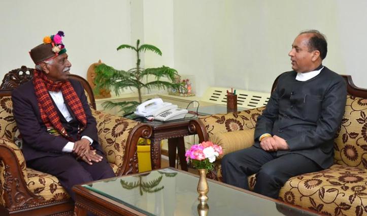 CM जयराम ने राज्यपाल बंडारू दत्तात्रेय से भेंट की