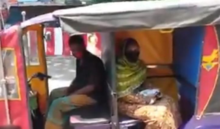 कोरोना संक्रमण से बचाव के लिए चालक ने बदली E-Rickshaw की डिजाइन, आनंद महिन्द्रा ने ऑफर की जॉब