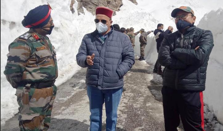कल शाम तक बहाल होगा Rohtang दर्रा, बर्फबारी के कारण 6 माह से था बंद