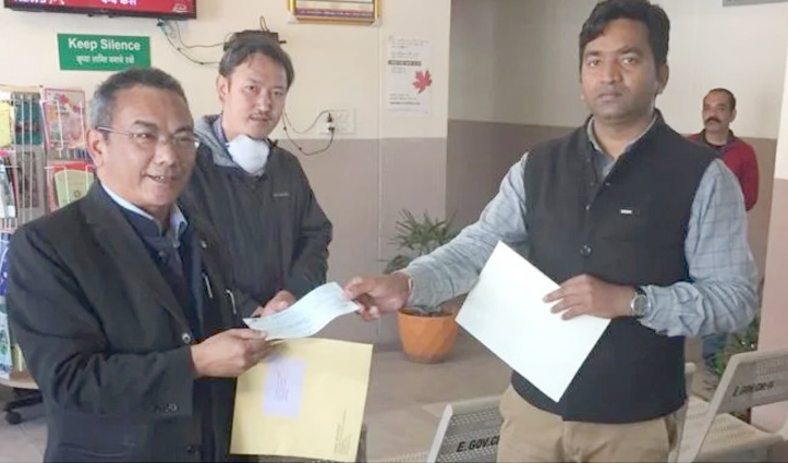 Central Tibetan Administration contributes Rs 3 Lakh towards District Covid-19 Fund