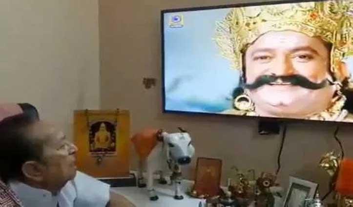 Ramayan: सीता हरण देखकर इमोशनल हुए 'रावण' अरविंद त्रिवेदी, फिर जोड़ लिया हाथ