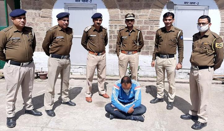 Shahpur police ने 5 किलो चूरा पोस्त व 5 लाख कैश संग पकड़ा