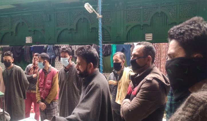 Shimla की जामा मस्जिद में फंसे 194 कश्मीरी खान, खाने के लिए नहीं राशन