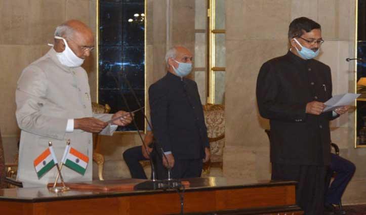 संजय कोठारी ने ली CVC के रूप में शपथ, पहले थे राष्ट्रपति रामनाथ कोविंद के सचिव