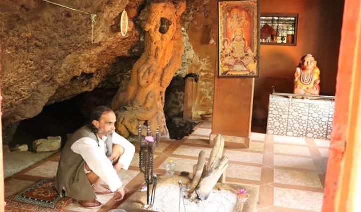 सुंदरनगरः ताम्रकूट पर्वत के नीचे बनी गुफा सेस्नान के लिए हरिद्वार जाते थेशुकदेव ऋषि