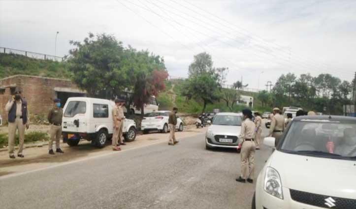 सुंदरनगरः Curfew में ढील की अफवाह के बीच खरीददारी करने सड़कों पर उमड़ गए लोग