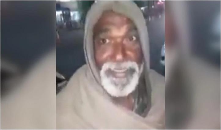 Corona Lockdown के बीच Viral हुए सनी बाबा, इंग्लिश गाना गाते हुए मांगते हैं भीख