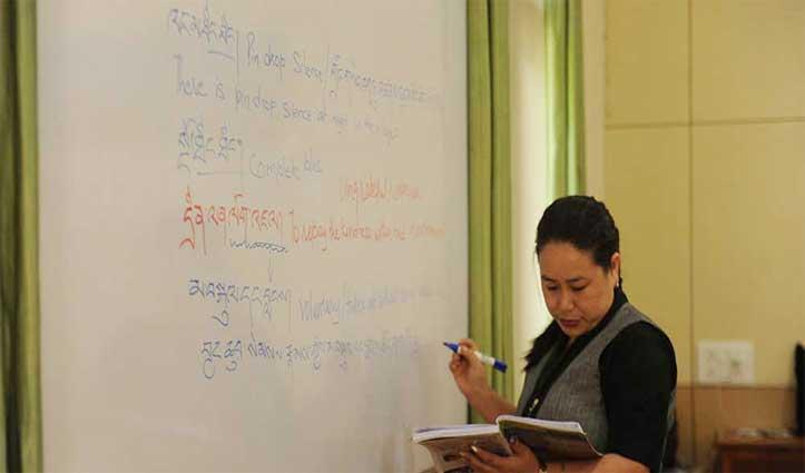 Tibetan teachers opt for online teaching in Coronavirus lockdown
