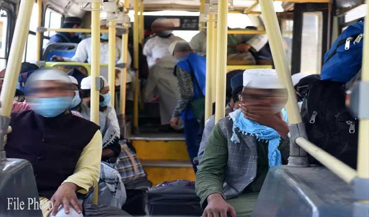 राहत: तब्लीगी जमात से Mandi लौटे 17 लोगों में कोई Corona संदिग्ध नहीं