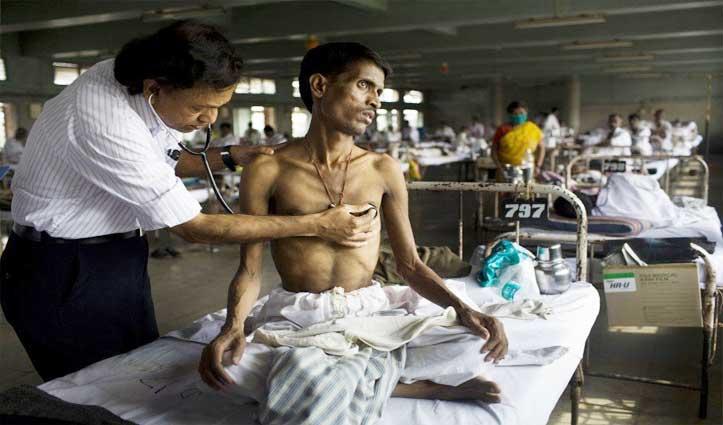 देश में 14-29 फरवरी के बीच दर्ज हुए TB के 1.14 लाख केस; 1-14 अप्रैल के बीच 19,828