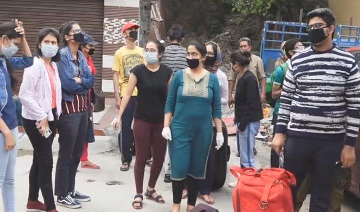 Kota से वापस पहुंचे Himachali Students,ऊना व बिलासपुर में होंगे Quarantine