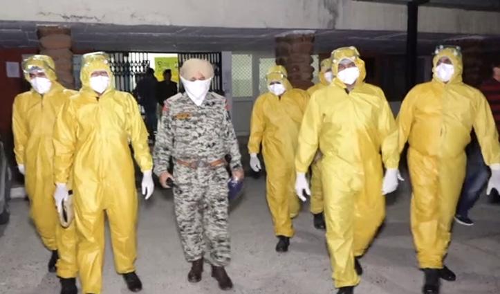 Una Police ने तैयार की कोविड योद्धाओं की Team, कोरोना संदिग्धों-मरीजों की मूवमेंट में मुस्तैद