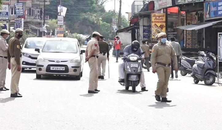 Curfew में वाहन दौड़ाने वालों के खिलाफ Una Police सख्त, दो दर्जन वाहन जब्त