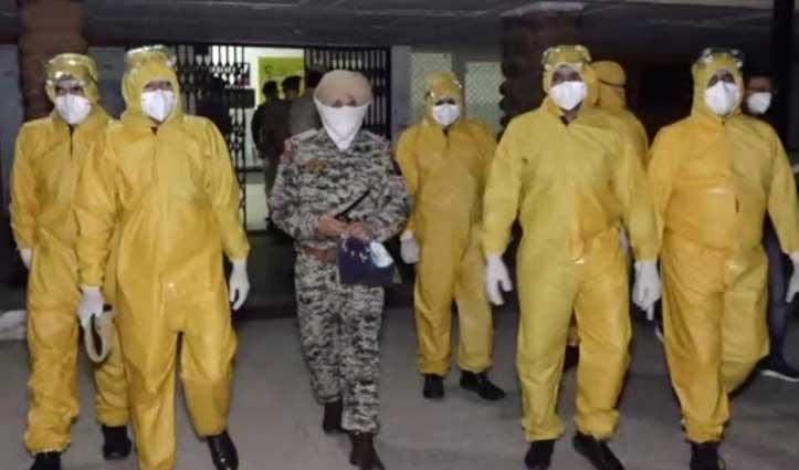 कोरोना पॉजिटिव लोगों के परिवारजन Quarantine में, संपर्क में आए 11 लोग Isolation में भेजे