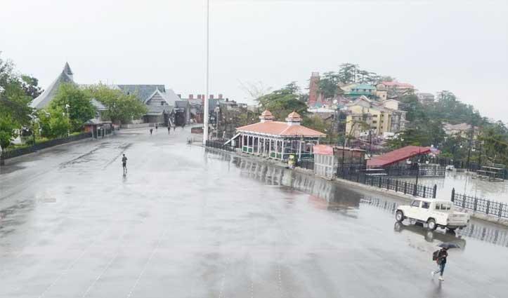 Himachal Weather: ओलावृष्टि से फसलों को नुकसान, अभी और बरसेंगे बादल