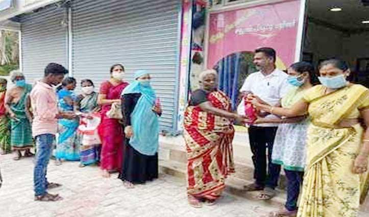 मिसाल : बेटी की पढ़ाई के लिए जमा किए पैसों से 600 जरूरतमंद परिवारों को बांटा सामान