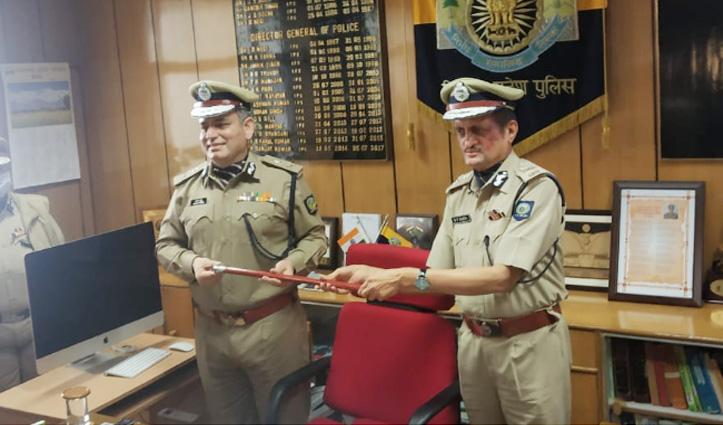 संजय कुंडू Himachal Police के नए Boss, मरड़ी की विदाई के साथ ग्रहण किया पदभार