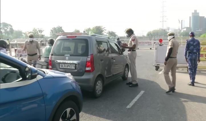 हरियाणा सरकार ने सील किया Gurugram Border, पैदल सीमा पार करने पर भी पाबंदी