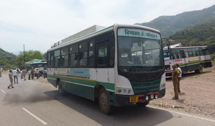 चंडीगढ़, मोहाली व पंचकूला से आज 49 बसों में वापस लाए 1239 हिमाचली