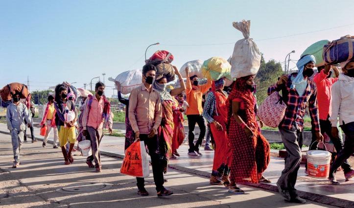 कोरोना संकट के बीच Road Accident ले रहे मजदूरों की जान ; मध्यप्रदेश, यूपी और बिहार में 16 की मौत