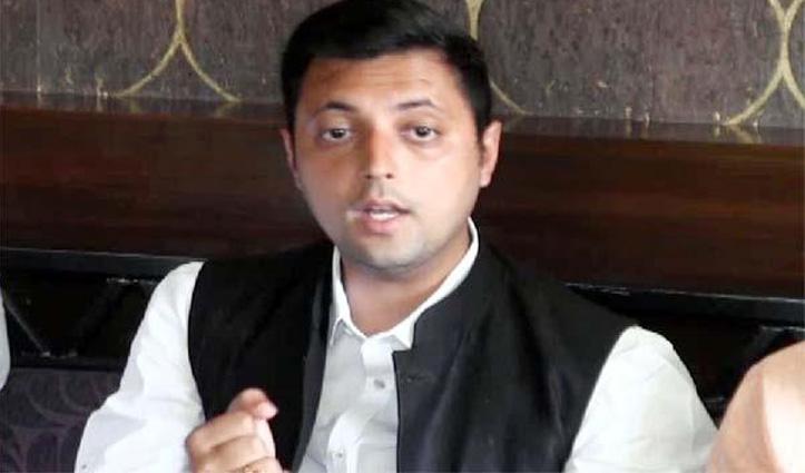 स्वास्थ्य विभाग के ऑडियो मामले में विक्रमादित्य के बाद अब आश्रय ने मांगा CM का इस्तीफा