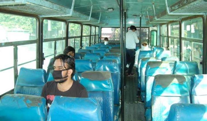 कोरोना संकट के बीच Haryana में 29 रूटों पर आज से दौड़ीं बसें