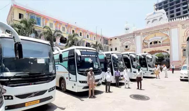Breaking: नांदेड़ से पंजाब लौटे यात्रियों को छोड़ने वाली Bus के चालक-परिचालक पहुंचे ऊना