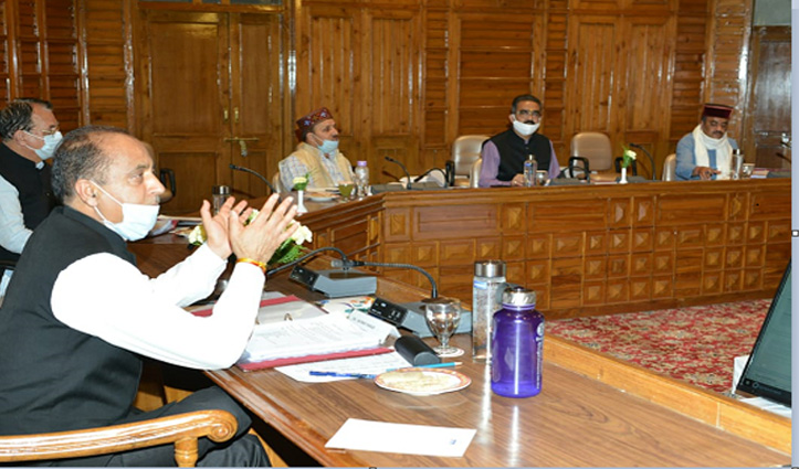 Cabinet Meeting शुरूः लॉकडाउन के बीच Himachal में Buses के संचालन, School Fees पर होगा फैसला