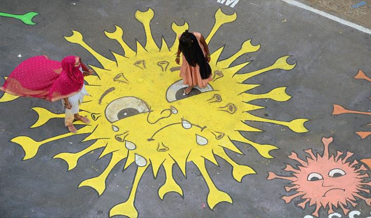 Corona in India – तेजी से फैल रहा कोरोना, पिछले 24 घंटे में 3722 नए केस, 26 हजार से अधिक हुए स्वस्थ