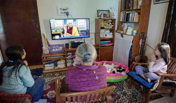 Dalai Lama ने Stress दूर करने को प्रेम और करुणा पर आधारित Inner Peace विकसित करने की दी सलाह