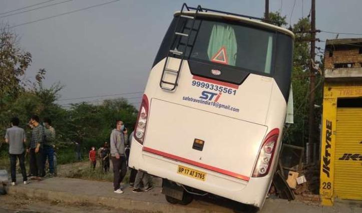 छात्रों को Jammu-Kashmir छोड़ने जा रही थी बस, Himachal में हुई हादसे की शिकार