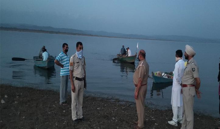 Big Breaking: कोरोना संकट के बीच पौंग झील में तैरता दिखा शव, नजदीक जाकर देखा तो होश उड़ गए