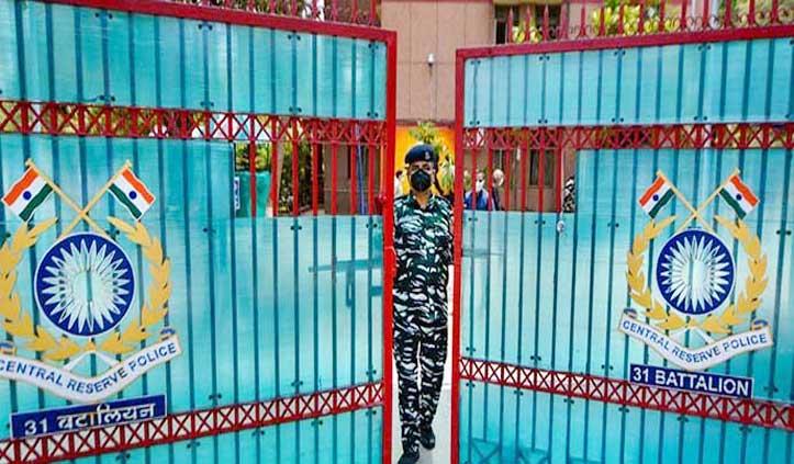 दिल्ली में CRPF का एक कर्मचारी कोरोना पॉजिटिव, Headquarter सील