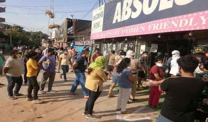 Haryana में आज से खुल गईं शराब की दुकानें, 5 से 50 रुपए तक वसूला जाएगा 'Covid Cess'