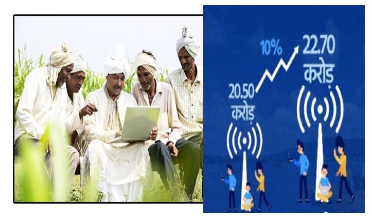 पहली बार भारत के गांवों में Internet Users की संख्या शहरी क्षेत्रों से अधिक: रिपोर्ट