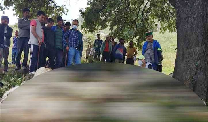 Shimla के जुब्बल में आसमानी बिजली का कहर, 85 भेड़-बकरियों की गई जान
