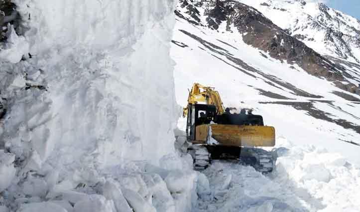 एक हफ्ते बाद बहाल होगा Manali-Leh मार्ग, सीमा पर तैनात सुरक्षा बलों को मिलेगी बड़ी राहत