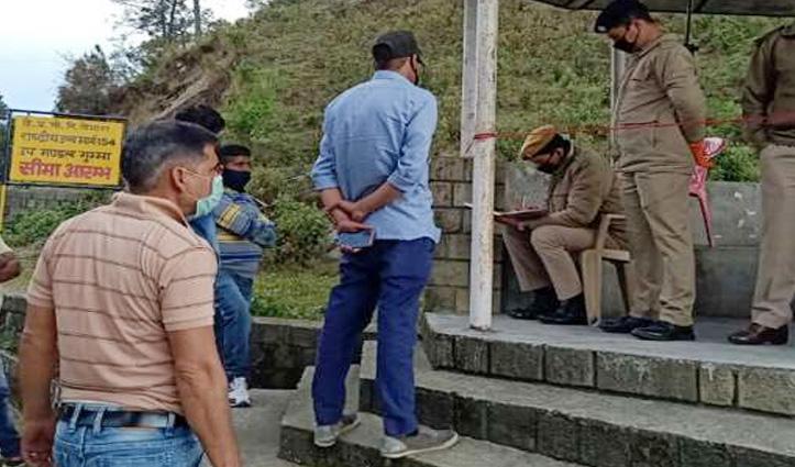 Mandi में दो कोरोना संक्रमित मरीज सामने आने के बाद मंडी-कांगड़ा सीमा पर बढ़ाई चौकसी
