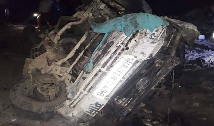 Mandi: रात के अंधेरे में ब्यास किनारे लुढ़की सूमो, चालक की मौके पर गई जान