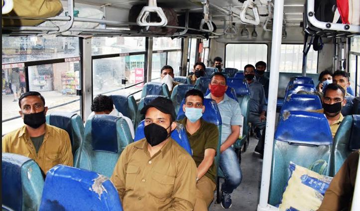 लाॅकडाउन-5 के बीच कुछ इस तरह होगा Himachal में बसों का संचालन,देखें तस्वीरें