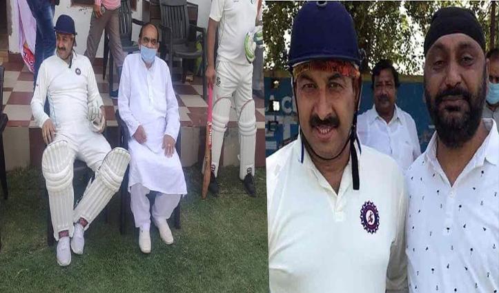 BJP सांसद मनोज तिवारी ने तोड़ा लॉकडाउन; Cricket खेलने हरियाणा पहुंचे