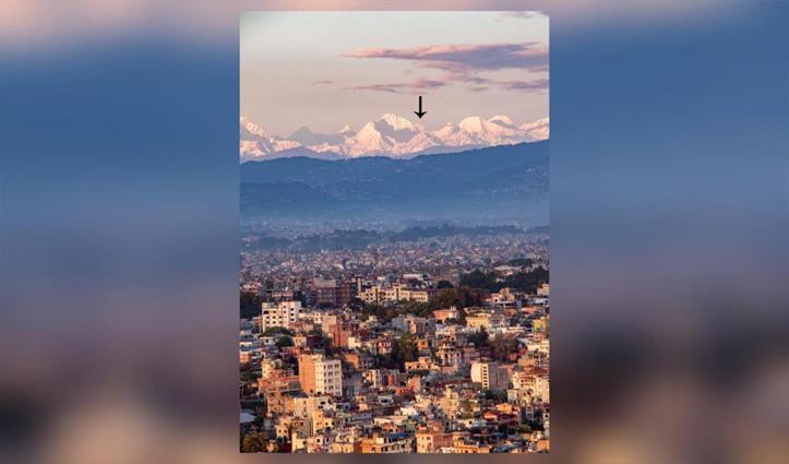 Lockdown Effect: कई वर्षों के बाद काठमांडू से नज़र आया 200 Km दूर माउंट एवरेस्ट, देखें Pics
