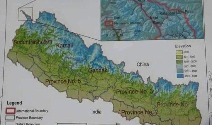 China की शह पर Nepal की हिमाकत: नए नक्शे में लिपुलेख और कालापानी को अपना बताया